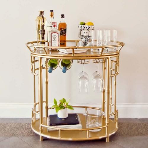 Gold Bar Cart Gallery Gold Bar Cart