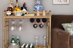 How-to-Make-a-Gold-DIY-Bar-Cart-Glitzy-Bar-Cart